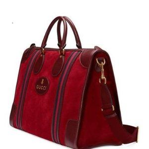 LAST ONE~$275 off~FIRM~GUCCI LG Suede Ophidia Duff